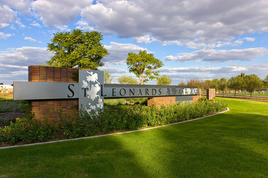 St Leonards Private Estate entry sign